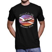Mooney M20 King Of The Sky Men`s Dark T-Shirt
