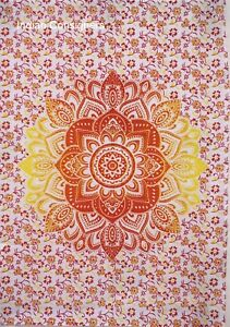 Tapestry Beautiful Wall Hanging Cotton Small Poster Mandala Flower Table Cover
