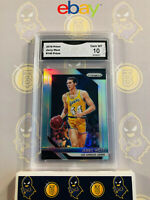 2018-19 Panini Prizm Jerry West #145 Silver Refractor - 10 GEM MT GMA Graded
