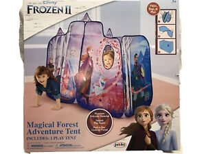 Jakks Disney Frozen II Magical Forest Adventure Tent Playset