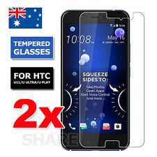 2X Premium Tempered Glass Screen Protector Film Guard For HTC U Ultra U Play U11