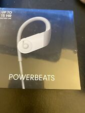 Beats by Dr Dre Powerbeats High-Performance Wireless Earphones White New Sealed