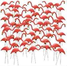 Pink Flamingo Yard Outdoor Lawn Garden Retro Art Ornaments Decoration 50 Pack