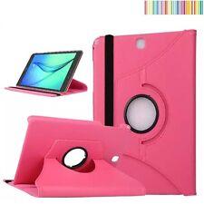 "Funda giratoria 360º tablet Samsung Galaxy Tab a 9.7"" Sm-t550 T555 (Rosa Fucsia)"
