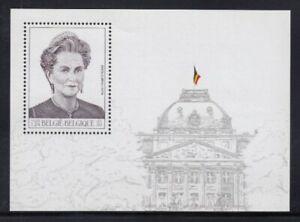 BELGIUM Queen Paola MNH souvenir sheet