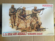 DRAGON ITALERI 1:35 U.S. 101ST AIR ASSAULT KIT DI MONTAGGIO NEW!!
