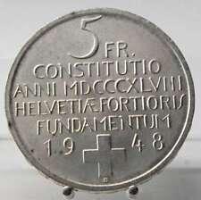 Schweiz, 5 Franken 1948, Silber .835
