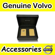Genuine Volvo XC90 (16 -) carcasa llavero de cuero (ámbar)