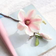 Artificial Silk Fake Flowers Roses Carnation Floral Wedding Bouquet Bridal Decor