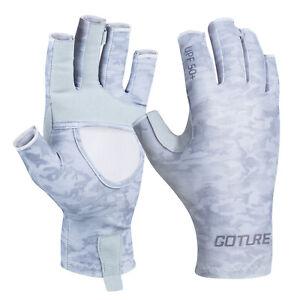 Half Finger Fishing Gloves Sun Protection Summer Outdoor Sports Climbing Gloves