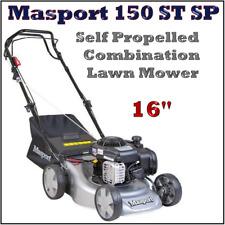 "Masport 150 St SP 16"" Combo Self Propelled Lawn Mower Lawnmower Post"