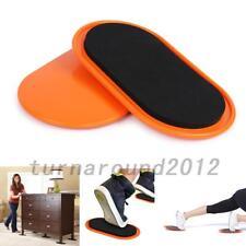 2pcs Exercise Sliding Gliding Discs Fitness Core Sliders Sport Full Body Hot