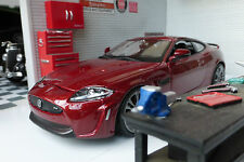 G LGB 1:24 Scale Jaguar XKR-S 1:24 Metallic Red Burago Very Detailed Model 21063