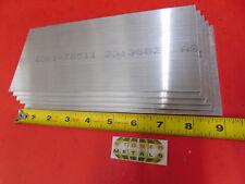 5 Pieces 18 X 4 Aluminum 6061 Rectangle Bar 9 Long Plate New Mill Stock 125