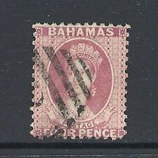 Used Victoria (1840-1901) Bahamas Stamps (Pre-1973)