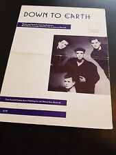DOWN TO EARTH  CURIOSITY KILLED THE CAT SHEET MUSIC