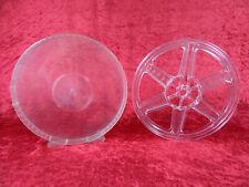 1 St. 120 Met. Super 8 Filmspule, transparent in Runddose. Gebraucht. 120/192