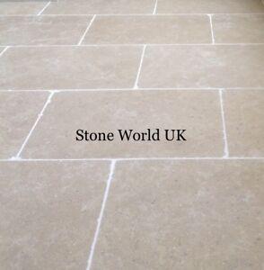 Tumbled Dijon (Hamlet) Limestone Floor Tiles Aged Flagstone Slabs from £28.50 m2