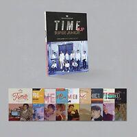 SUPER JUNIOR ALBUM TIME SLIP CD+POSTER etc FULL PRE-ORDER BENEFIT Version Choice
