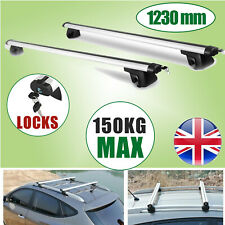 5 Door 2014-On Aluminium AeroBar Locking Roof Bars Nissan Navara D23