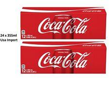 24 x Coca Cola Classic (24 x 0,355 L Dosen) Original Coke USA Import
