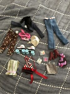 barbie my scene clothing and accessories lot