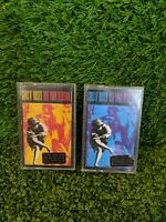 Guns n Roses - Use Your Illusion I & II - Cassette Tapes (1 & 2), Vintage Tapes