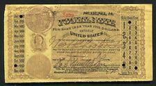 1883 10 TEN CENTS POSTAL NOTE TYPE I PHILADELPHIA, PA VERY FINE+