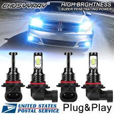 For Dodge Avenger 2008-2014 - 8000K BLUE LED Headlight High & Low Beam Bulb