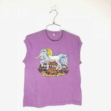 Vintage Harley Davidson Unicorn T Shirt 80s Size Small The Magical Ride