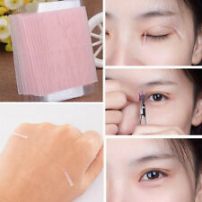 100Pcs Waterproof Fiber Double Side Adhesive Eyelid Beauty Invisible Eye Sticker
