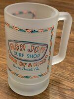 Ron Jon Surf Shop Frosted Beer Mug Florida Surfing Souvenir