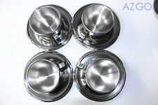 4 Sets 145ml Stainless Stainless Double Wall Coffee Cup Thermal Espresso