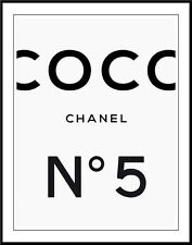 Coco Chanel Haute Couture #126 Pop Art Canvas 16 x 20   #8809