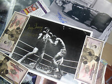 d99 53 JERRY QUARRY GOLD INK 8x10 RARE signed autograph GREATEST NON champ? auto