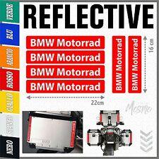 6x BMW Motorrad REFLECTIVE RED ADESIVI PEGATINA R1200 1150 F800 F650 F700 GS A