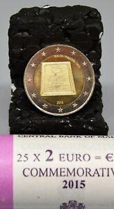 """MALTE 2015 : 2 euros commémo """"Proclamation de la république"""" UNC, rouleau."""