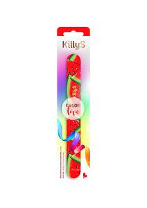 KillyS pilnik Color Love prosty arbuz 180-240/ Nail file for natural nails