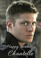 PERSONALISED JENSEN ACKLES BIRTHDAY CARD