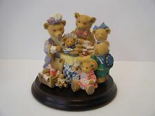 "Dept 56 The Upstairs Downstairs Bears ""Henrietta""S Tea Party"" Ltd Carol Lawson"