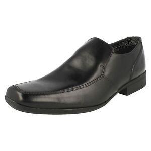 Hommes Clarks Chaussures Habillées à Enfiler Baze Night