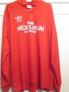 Ac Milan 1989 vintage Training Football Shirt large /48294