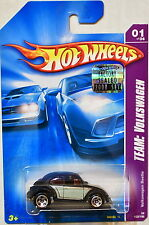 HOT WHEELS 2008 TEAM: VOLKSWAGEN VW BEETLE #01/04 BLACK FACTORY SEALED
