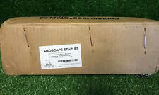 Pinnacle Mercantile 500-4 inch Garden Landscape Fabric Anchor Staples Thick 11