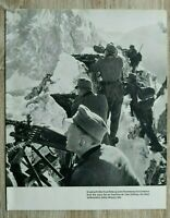 AB) Blatt 2.WK Gebirgsjäger Edelweiss 1941 Gebirgs-Division MG Feuerstellung +++
