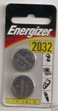 Genuine Energizer CR2032 3Volt Lithium Batteries x 6 batteries brand new