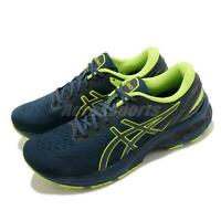 Asics Gel-Kayano 27 Lite-Show French Blue Hazard Green Men Running 1011B146-400