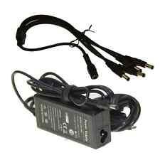 4 Port 12V DC+Pigtail Power Supply for 4CH CCTV Camera