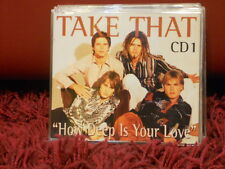 TAKE THAT - HOW DEEP IS YOUR LOVE - CD 1 - 4 TRACKS NUOVO