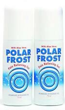 Kühlgel, 2 x POLAR FROST, Roll-On-Stift,  Kältetherapie, Eisgel, Polarfrost
